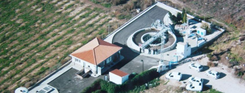 Estación depuradora de Aguas Residuales Hondón de las Nieves