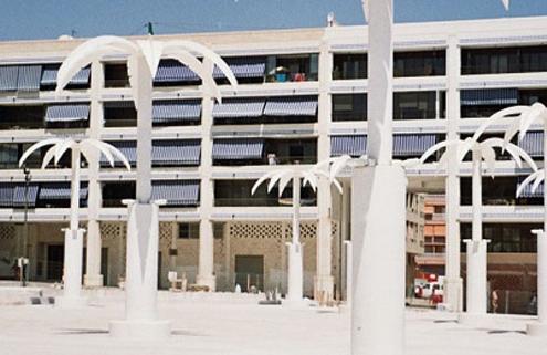 Plaza Portícada en Guardamar del Segura