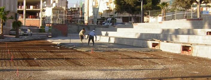Plaza Clot L'illot en El Campello