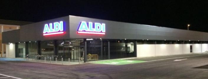 Supermercado Aldi en Elche