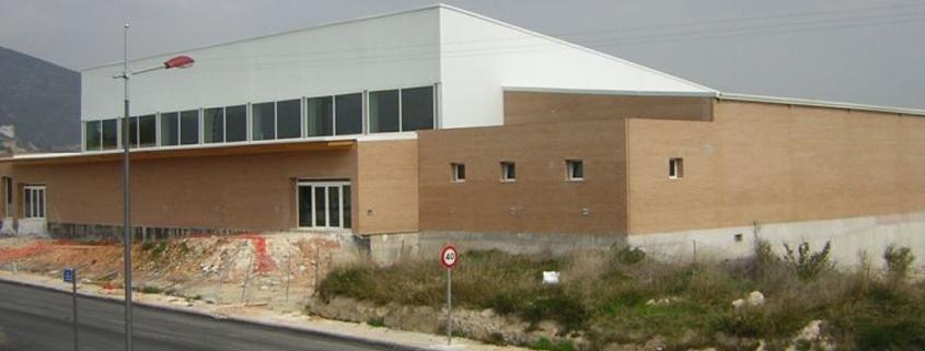 Piscina Municipal Cubierta en Pego