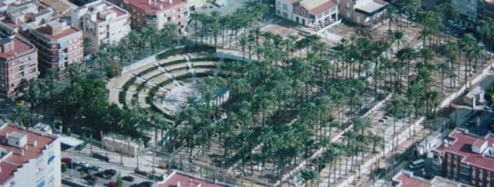 Parque el Palmeral en Santa Pola