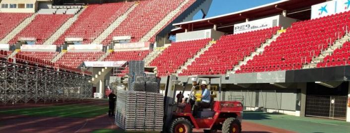 Grada Estadio Iberostar en Palma de Mallorca