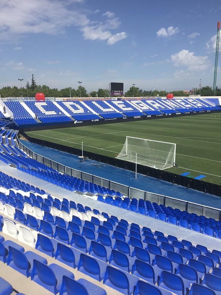 Ampliación de gradas en Estadio Butarque CD Leganés