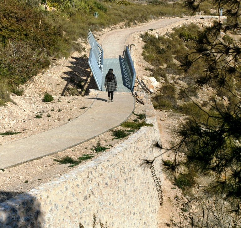 Adecuación de Pista de Despegue de Parapente en Santa Pola