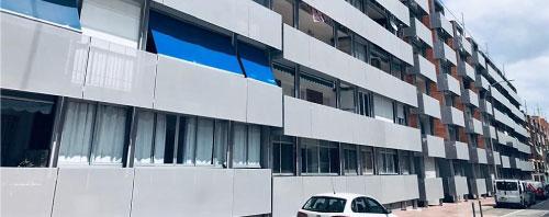 Rehabilitacion de fachada en el barrio Santa Isabel de San Vicente del Raspeig
