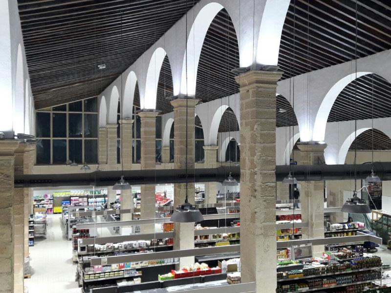 Construccion de supermercado Aldi en El Puerto de Santa María