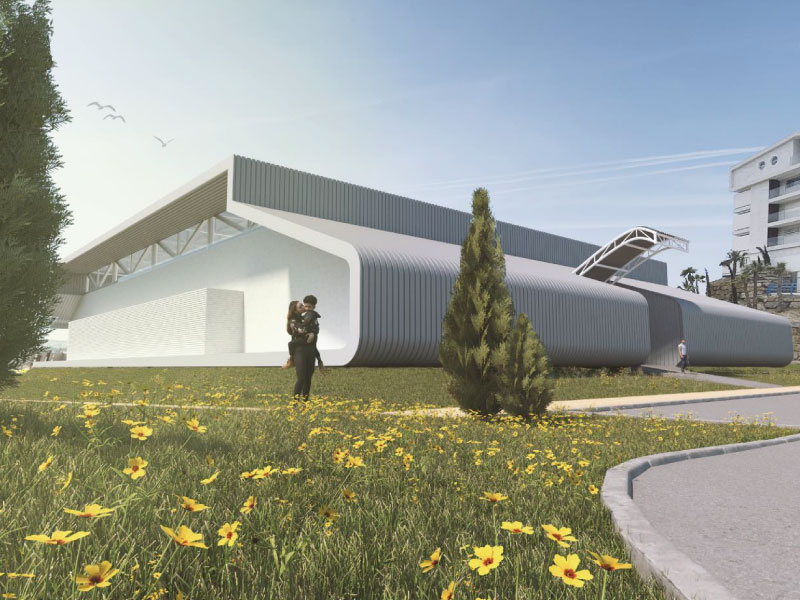 Construcción de Pabellón deportivo Training Center Higuerón en Fuengirola Malaga