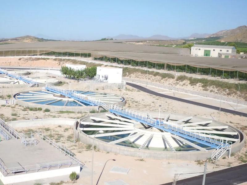Obras emergencia Mancomunidad de los Canales del Taibilla ETAP Torrealta