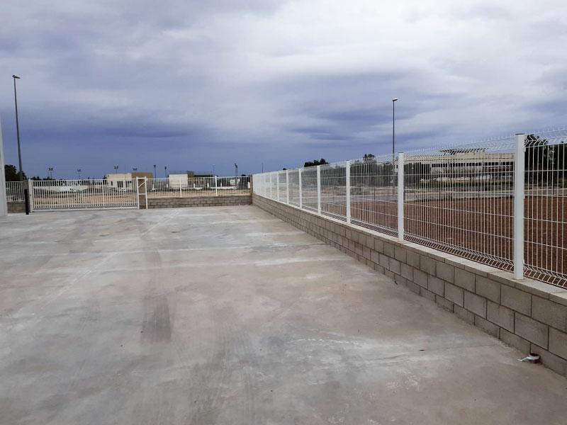 Obra de ampliación de nave industrial en Domeño Valencia